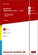 Skript - Strafrecht Allgemeiner Teil 2 – AT II
