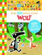 Meine 500 bunten Sticker: Wolf