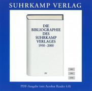 Die Bibliographie des Suhrkamp Verlages 1950–2000