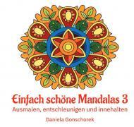Malbücher für jedes Alter / Einfach schöne Mandalas 3
