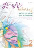 Abstract Line Art Coloring / Abstract Line Art Coloring - Nachzeichnen und Ausmalen - Band 02 auf 170 gr Papier matt