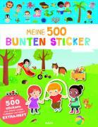 Meine 500 bunten Sticker